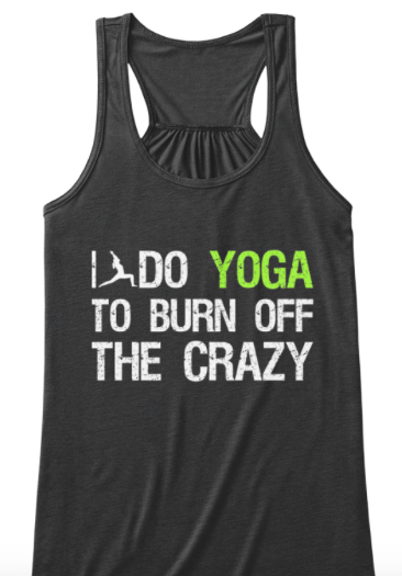 Yoga clothing - yoga tank top