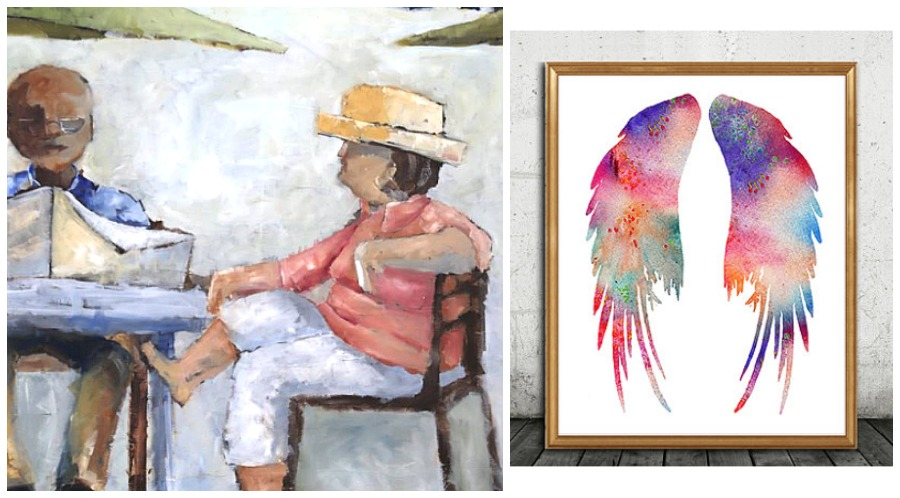 Mother's Day gift ideas - Art