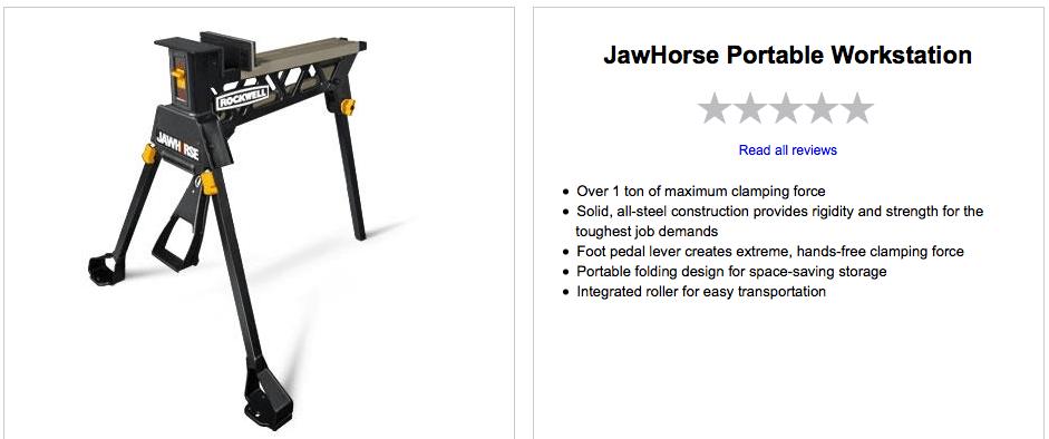 Rockwell Tools - Jawhorse