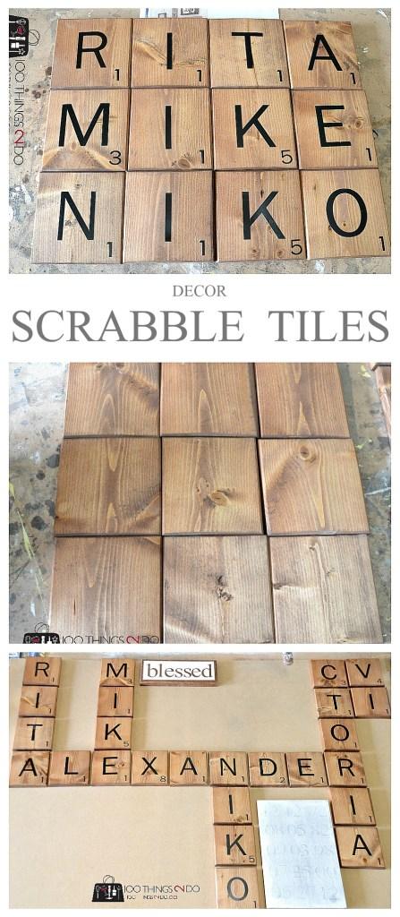 how to make scrabble tiles. Black Bedroom Furniture Sets. Home Design Ideas