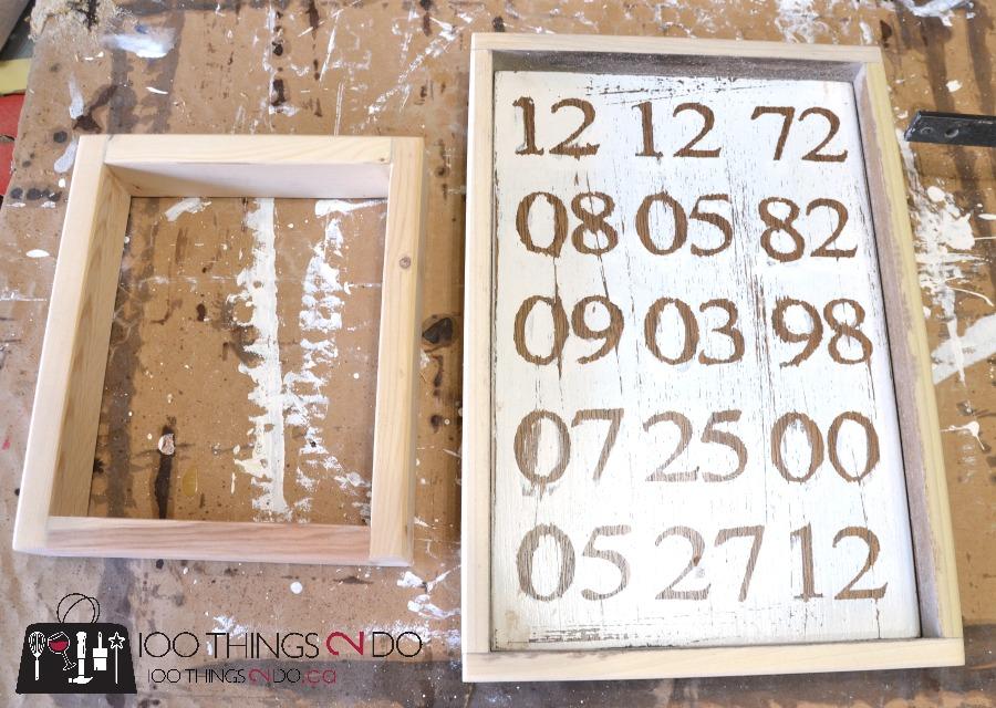 How to make wood frames