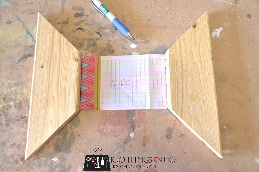 How to make rustic frames 3