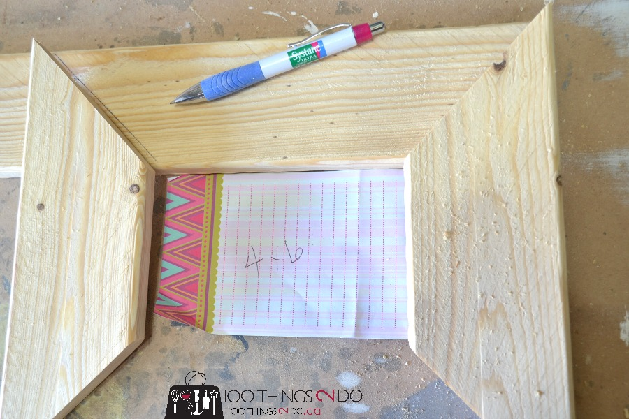 How to make rustic frames 4