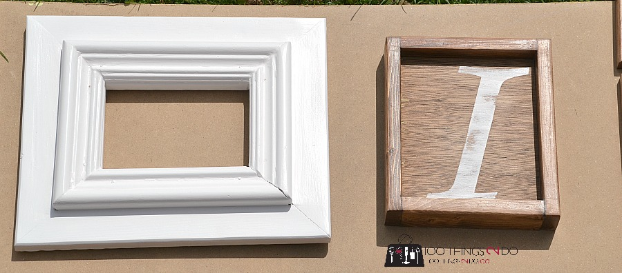 How to make rustic frames 8