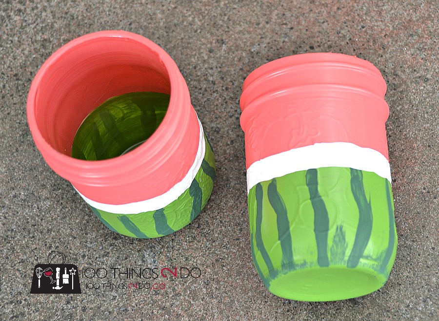 Watermelon utensil holders 2 - 1
