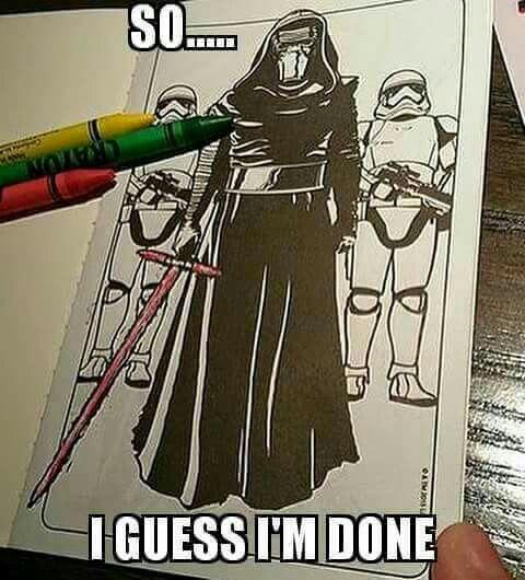 too funny - Star Wars