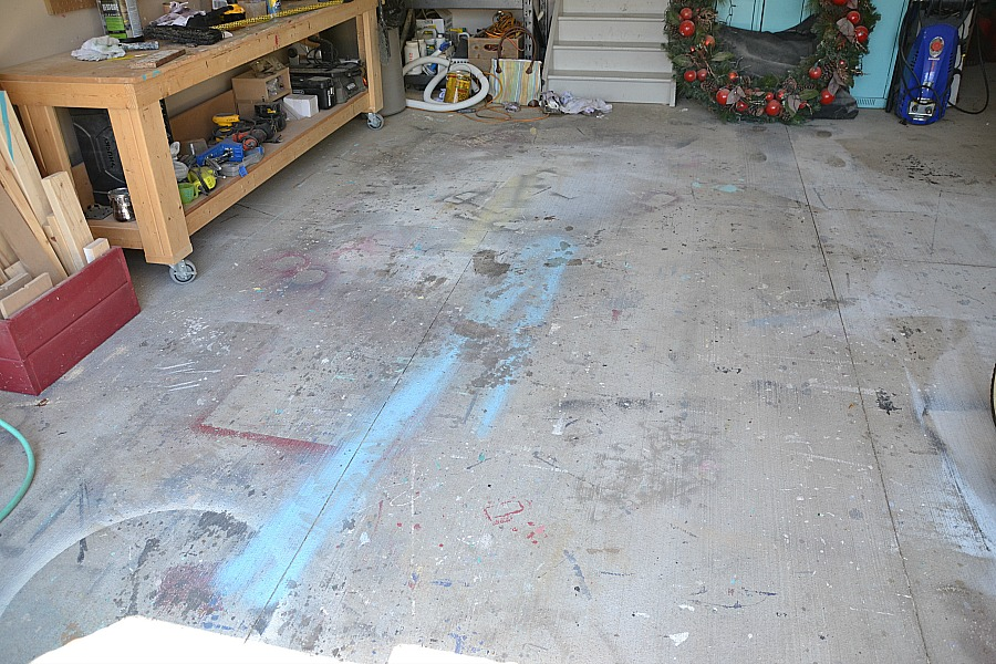 concrete floor harmon our epoxy services garage painted coating coatings