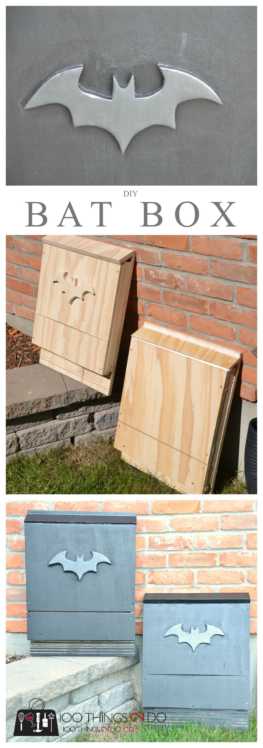 Build your own bat box attract bats to your yard 100 for Bat house plans