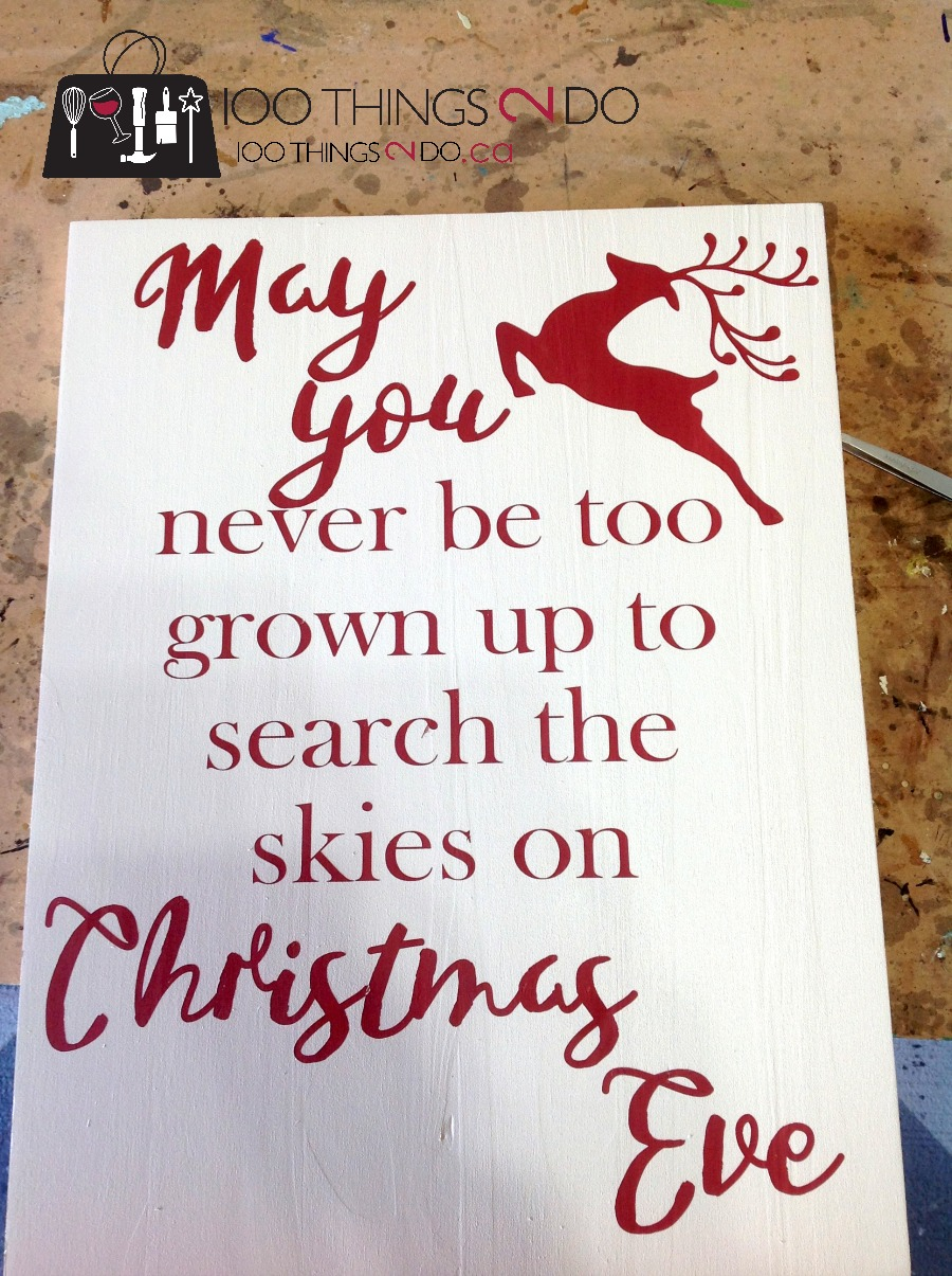 Rustic Christmas Sign And A Fall One Too
