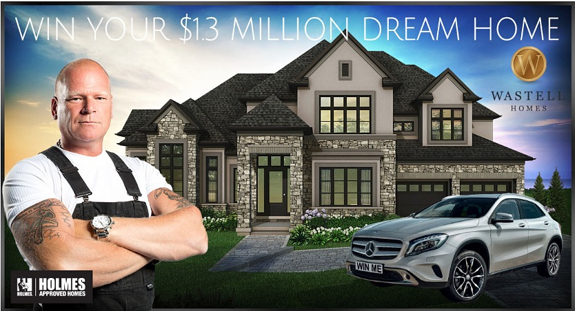 Dream Home, Dream home lottery, luxury home, Wastell Builders