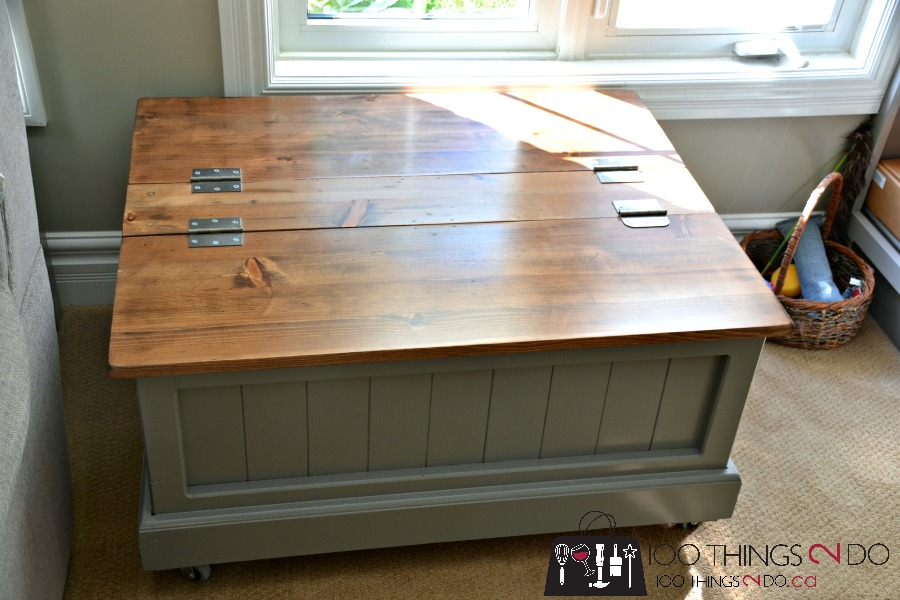 Coffee Table With Storage, Storage Coffee Table, Toy Box, Blanket Box,  Coffee