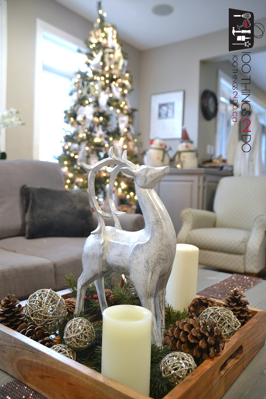 Holiday Home tour, Christmas home tour