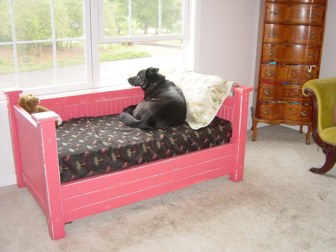 Dog bed, best dog bed, crib mattress dog bed, crib mattress pet bed, repurposed crib mattress, up cycled crib mattress