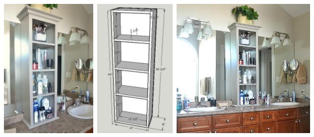 View Larger Image Bathroom Storage Tower, Bathroom Tower, Vanity Tower,  Cabinet On Bathroom Vanity, Vanity