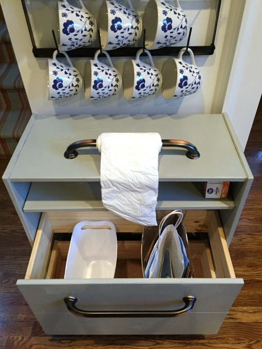 Ikea Rast hacks, 50 of the best Ikea Rast hacks, kitchen organization, recycling centre, repurposed dresser, Ikea rast makeover, nightstand, bedside table, Ikea hacks