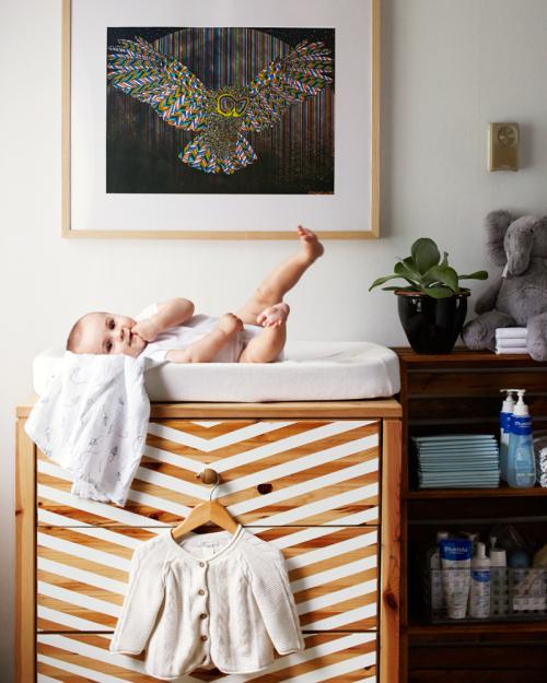 Ikea Rast hacks, 50 of the best Ikea Rast hacks, change table, nursery decor, Ikea rast makeover, nightstand, bedside table, Ikea hacks