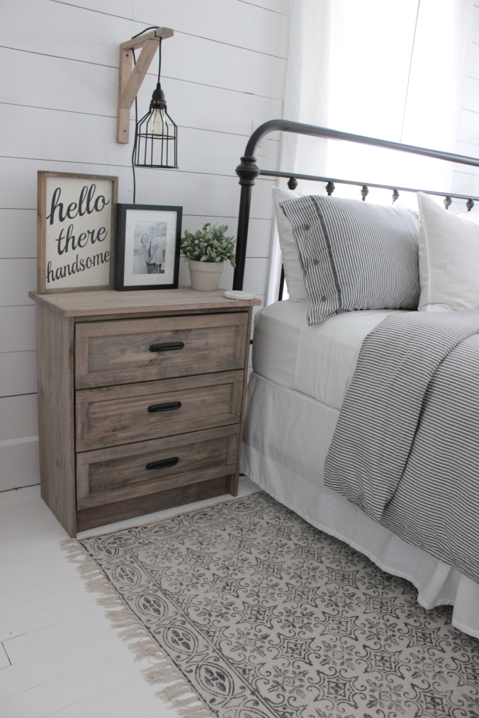 Ikea Rast hacks, 50 of the best Ikea Rast hacks, farmhouse nightstand, farmhouse bedside table, rustic dresser, Ikea rast makeover, nightstand, bedside table, Ikea hacks