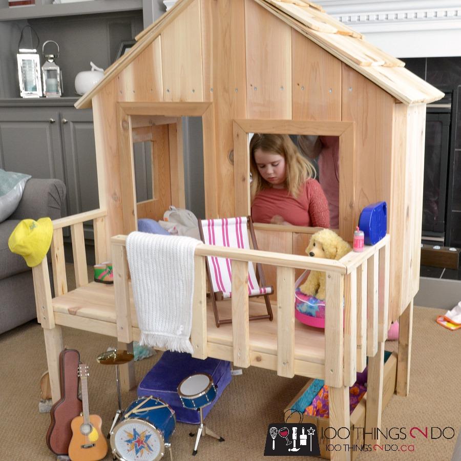 AG Doll treehouse 5 9
