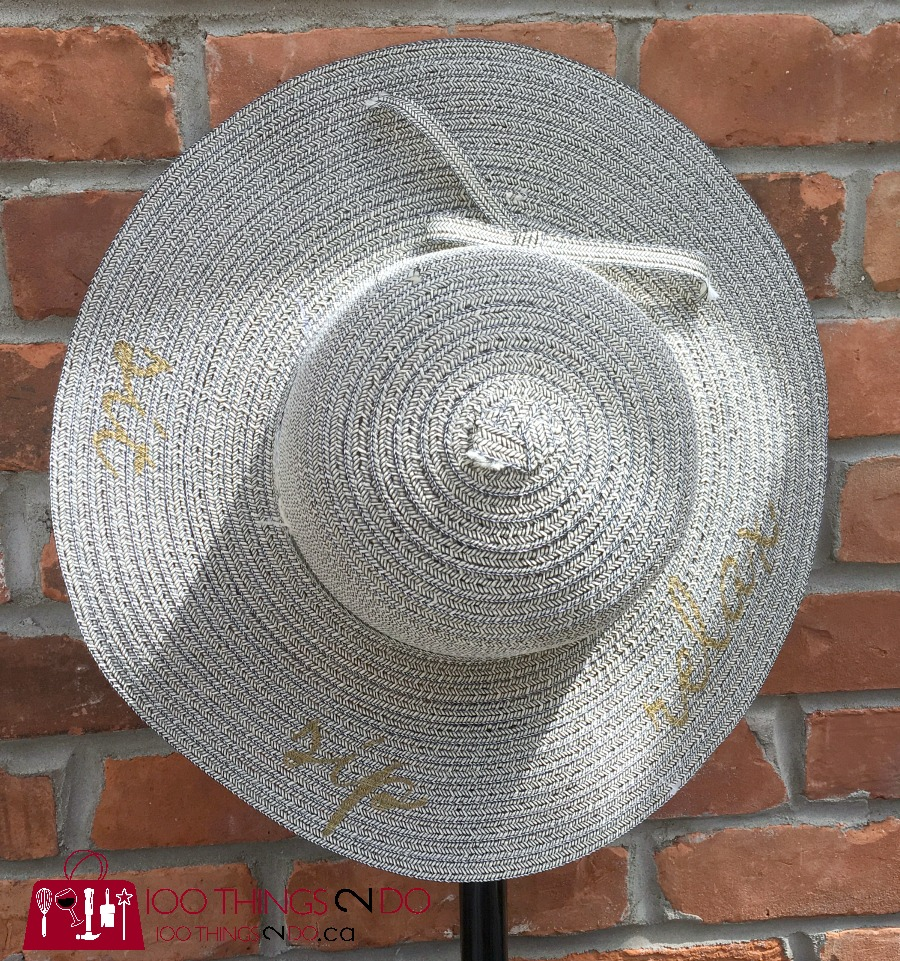 Mother's Day gift idea, sun hat, custom sun hat, DIY sun hat