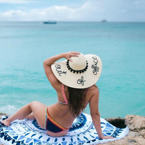 Mother's Day gift idea, sun hat, custom sun hat, DIY sun hat