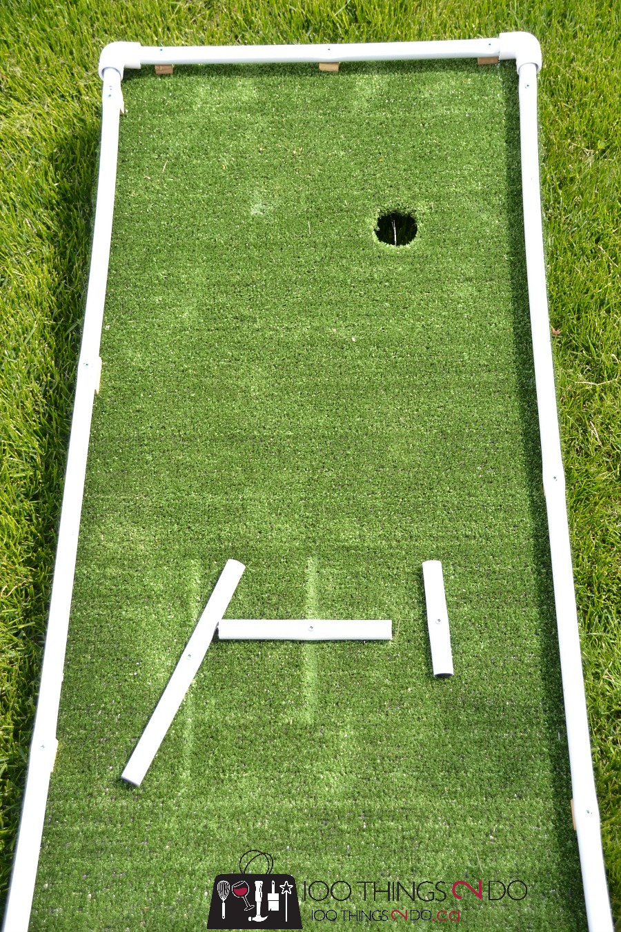 diy mini golf as designed by 6 and 9 year olds 100 things 2 do