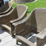 Wicker makeover, wicker patio set, painting wicker, refinishing wicker furniture