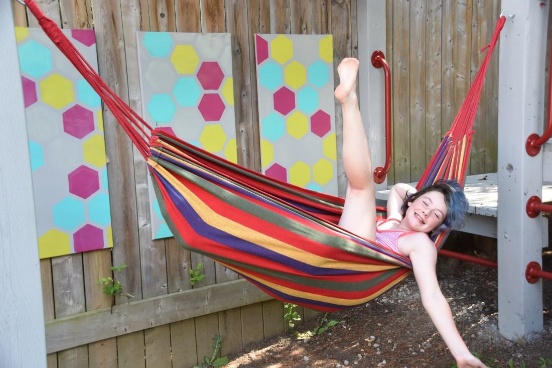 Backyard playground, playset, treehouse, upgrading your play set, playground makeover, Tweening up your backyard playground, ideas for adding life to your backyard playset