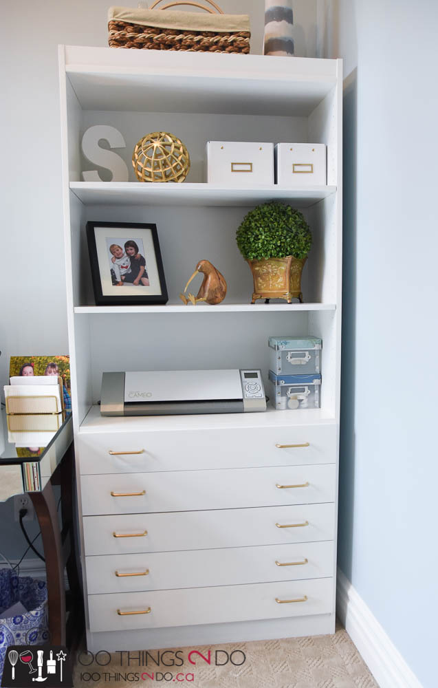 Office bookshelves, bookshelf, white bookshelf, white bookshelves, office makeover, home office, white office