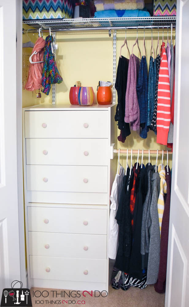 But With This Small Closet Organization / Ikea Hack, Chloeu0027s Closet  Actually Holds Considerably More Than It Did Before, At A FRACTION Of What  Other Closet ...