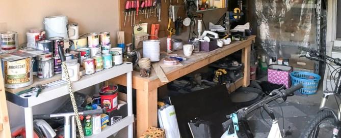 Garage workshop, workshop, she-shop, she shop, garage