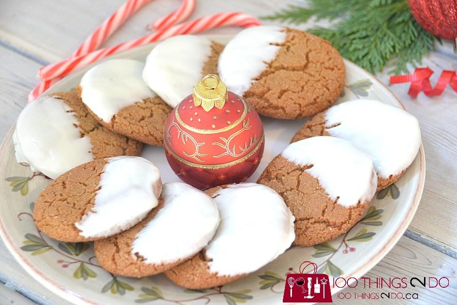 Quick and easy Christmas treats, Christmas baking, Holiday baking, ginger snaps, cC