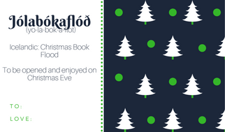 Jólabókaflóð, Jolabokaflod, Christmas book flood, Yule book flood, Icelandic traditions, Christmas in Iceland