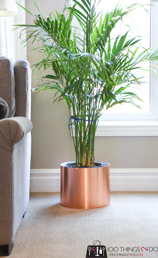 Concrete form ideas, copper planter, DIY copper planter, Copper container, MD Building products,