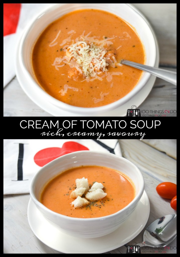 Cream of tomato soup, cream soup, hearty soup, tomato soup, best tomato soup, creamiest tomato soup