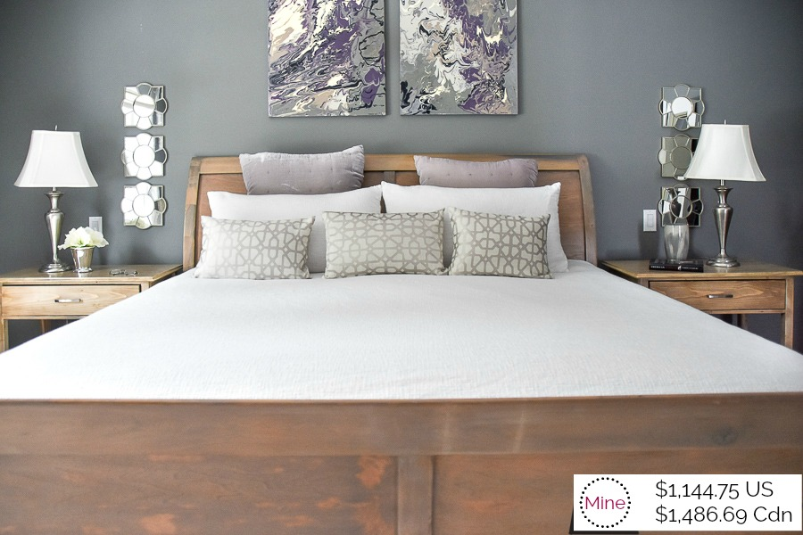 Master Bedroom Makeover - Theirs $6,773 vs. mine $1,144 - 100 ...