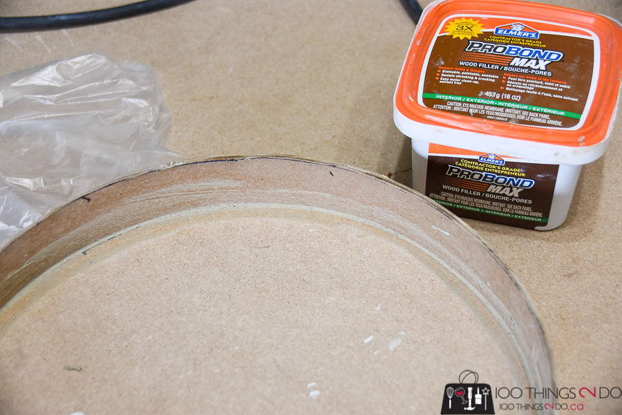 Round tray, round serving tray, DIY round tray, make your own circular tray, concrete form ideas