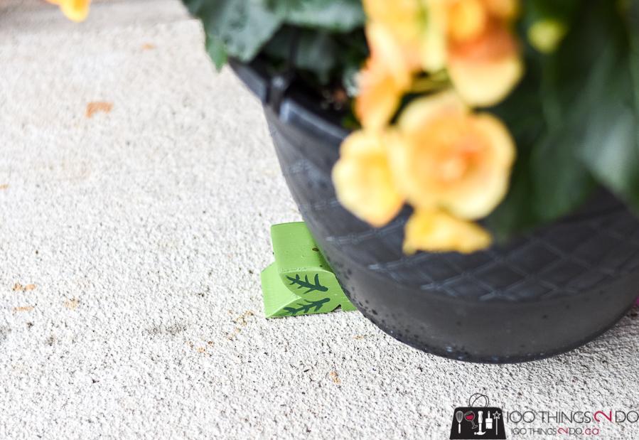 Pot feet, feet for planters, planter feet, deck planters, patio planters, garden pots