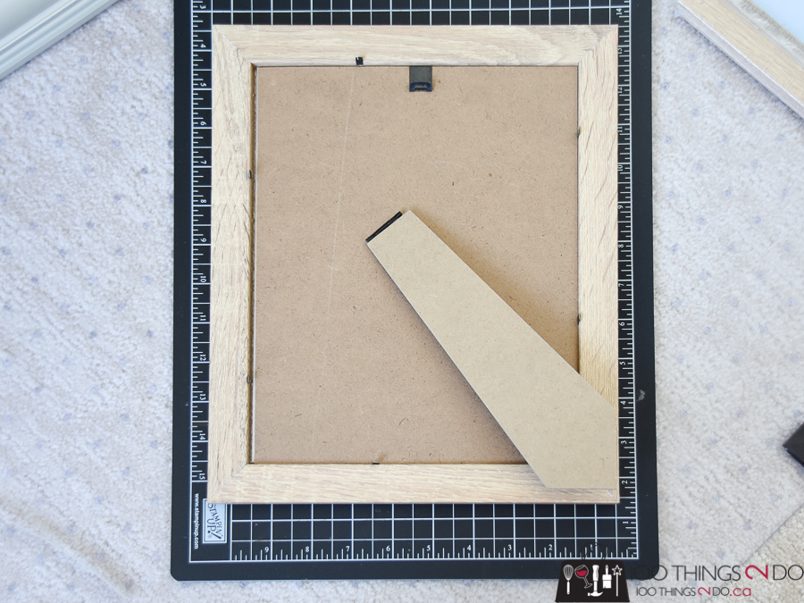Dollar store gallery wall - how to cut your own picture mats | 100 ...