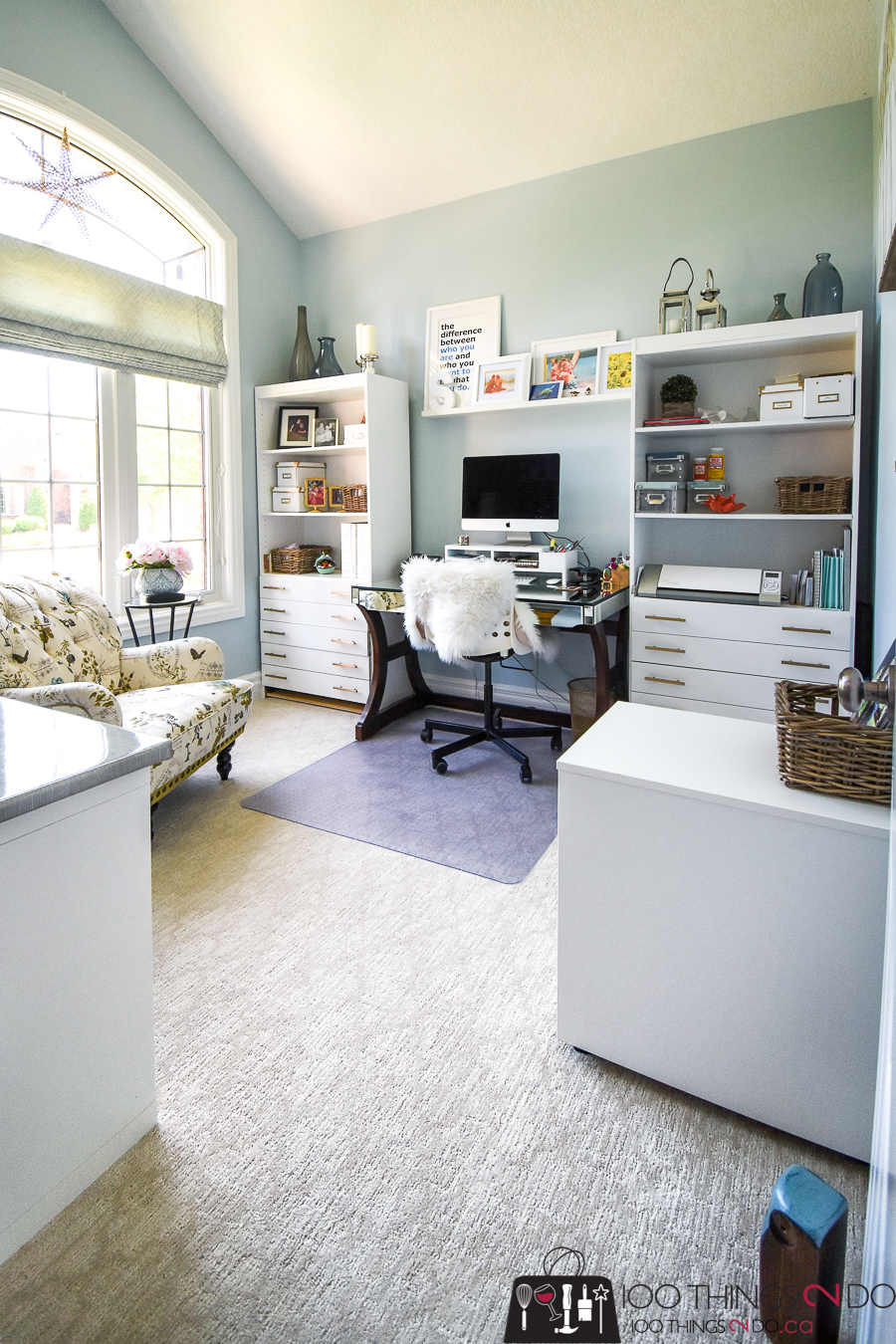 My Home Office is Finally DONE! | 100 Things 2 Do