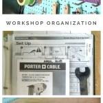 Workshop organization, manual binder, tool binder, organized workshop