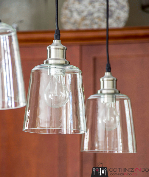 how to hang a pendant light, installing pendant lights, how to install a hardwired pendant light, pendant light