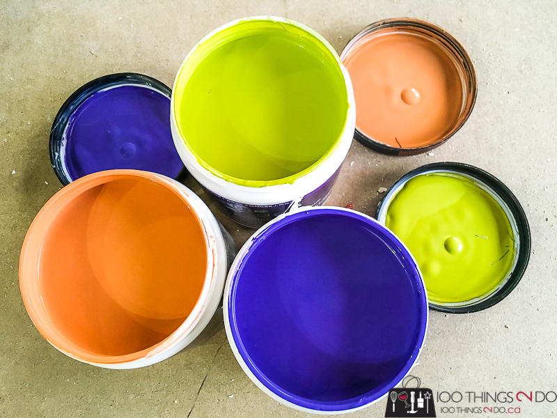 Behr Purple Prince, Behr Margarita, Behr Orange Liqueur