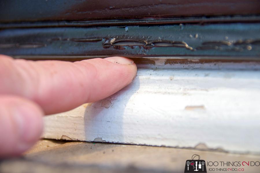 gap beneath front door