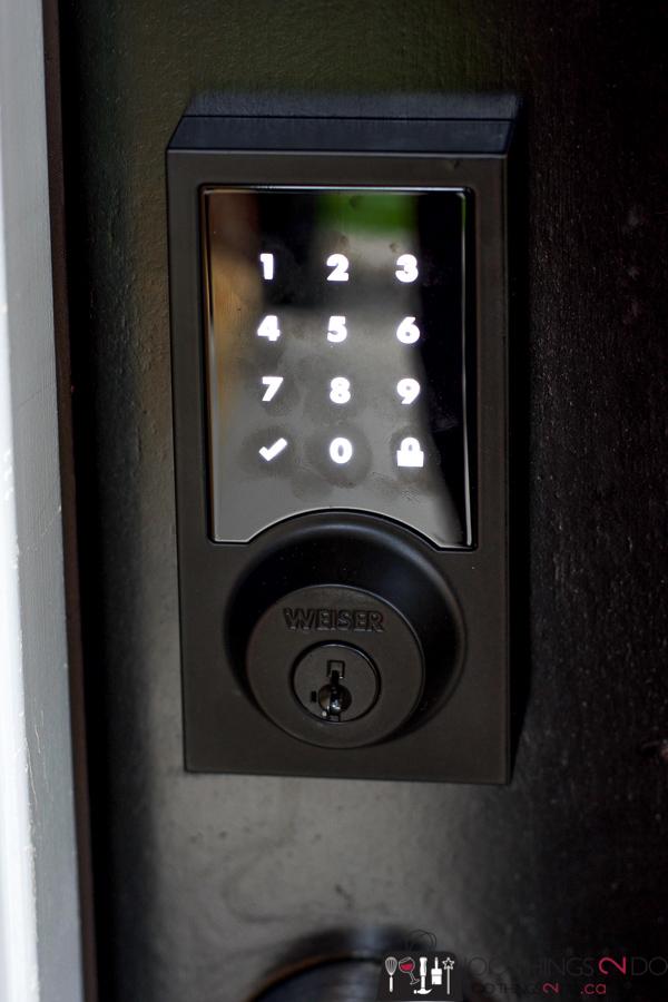 Installing a smart lock to your front door, Weiser Premis