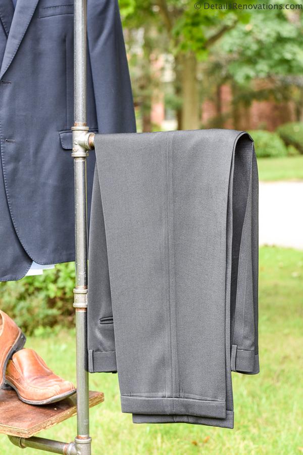 Industrial pipe valet, industrial pipe coat rack
