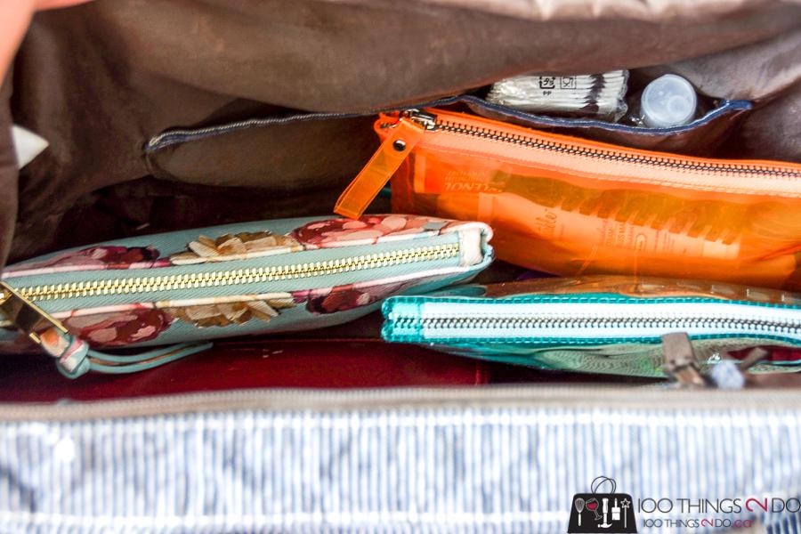 Organizing your purse, purse organization, purse hacks