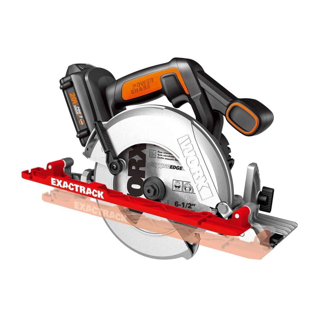WORX Exactrack 20V circular saw
