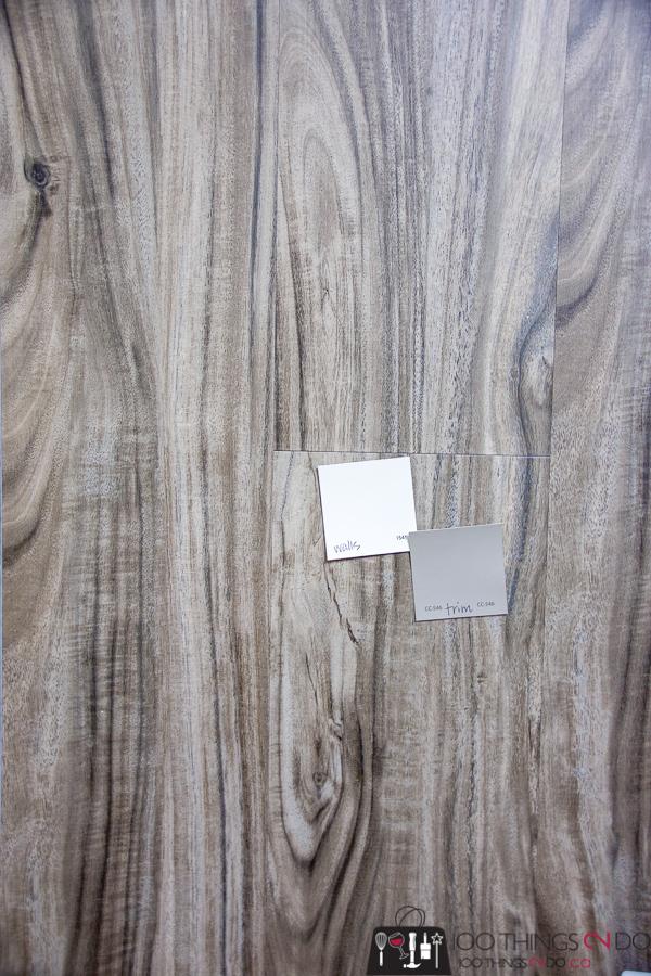 flooring sample for basement office