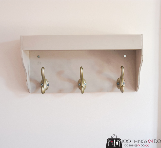 wall shelf with hooks, key rack, coat rack, coat rack with tray, tray with hooks