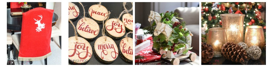 DIY Christmas decor ideas, Christmas craft ideas